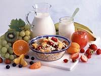Фрукты, ягоды, молоко