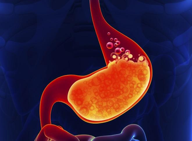 Переполненный желудок
