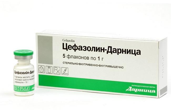 Лекарственный препарат Цефазолин