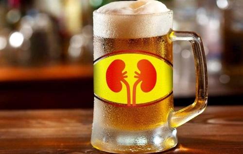 Пиво при камнях в почках